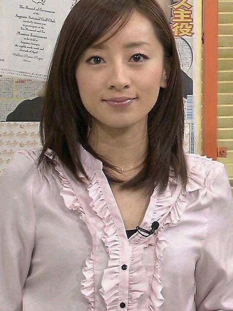 好きな女性アナウンサーで1位になった西尾由佳理