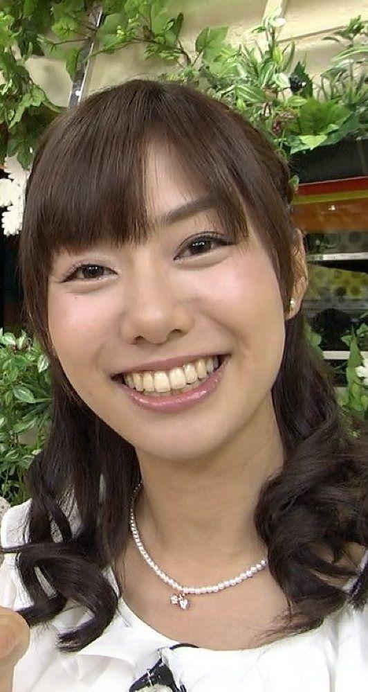 歯がとってもキレイな山崎夕貴アナ